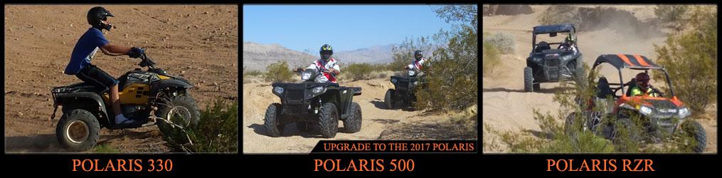 ATV Las Vegas Polaris RZR Rentals, ATV Las Vegas Polaris Scrambler 500 4WD, ATV Las Vegas Polaris Trail Boss Offroad las vegas offroad atv tours
