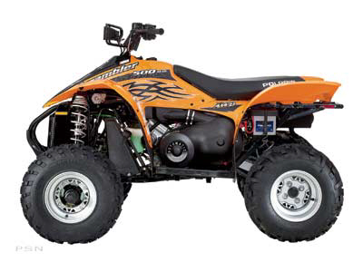 ATV Las Vegas - on this Polaris Scrambler 500 4WD