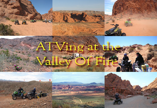 ATV Las Vegas at the Valley of Fire